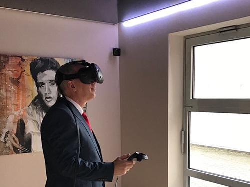 Virtual Reality Raum