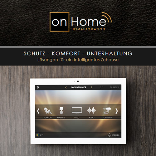 Smart Home Broschüre von on-Home